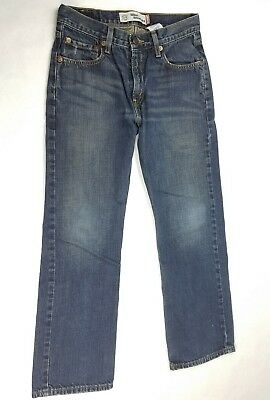 Levi's 514 SLIM Straight Leg Jeans Men's Boys sz 14 Slim 27 x 27 EUC
