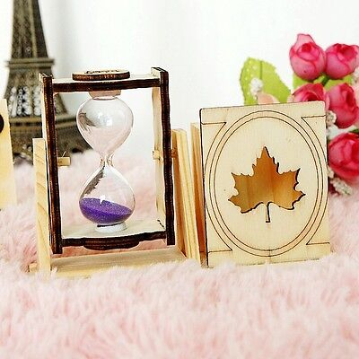 Exquisite Creative Products Maple Leaf Brush Pot Hourglass XY10910