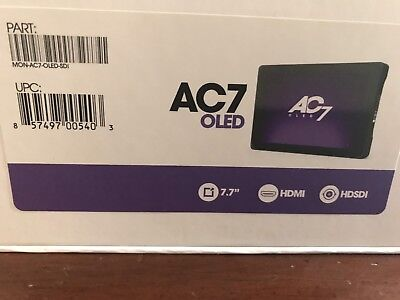 AC7 Oled SDI/HDMI SmallHD Monitor - Used, Great Condition