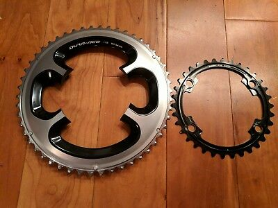 Shimano Dura Ace 9000 50-34 Chainrings