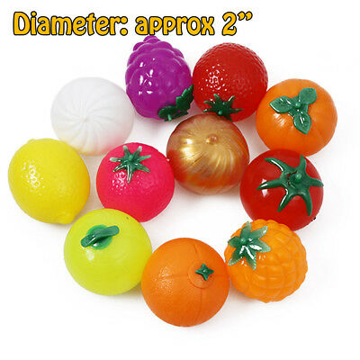 Funny Anti-stress Ball Releiver Novelty Fruit Releif Squeeze Toy Joke Tension