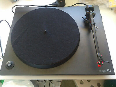 Rega P2 Turntable (Black)