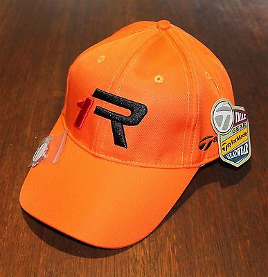 1x ORANGE - TMAX GEAR R1 TOUR GOLF CAPS with Magnetic Marker Free Delivery