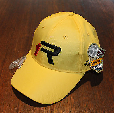 1x YELLOW TMAX GEAR R1 TOUR GOLF CAP with Magnetic Marker - Free Delivery