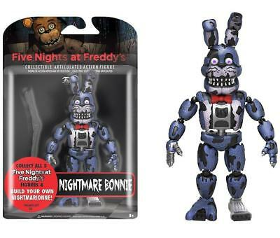 "Funko 5"" Articulated Five Nights at Freddy's - Nightmare Bonnie Action Figure"