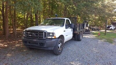 2002 Ford F-550 Commercial 2001 Ford F550 Commercial Dump Truck