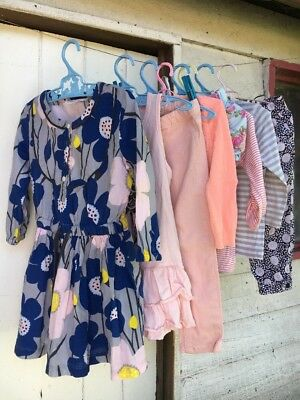 Bulk Girls x 8 Clothes Size 1 - 2 Country Road Minti Cotton On Pink & Floral