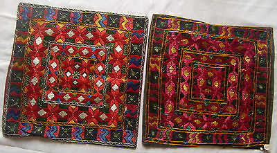 Beautiful Handmade Old Vintage Patch Work Cushions/pillow Cover India Fin Art #2