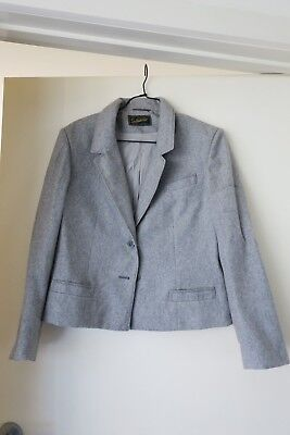 Suitmaster Grey Blazer / Jacket - Pure Wool