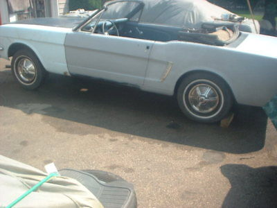 1965 Ford Mustang Base Rare and Complete 1964 1/2 D code Mustang convertible,