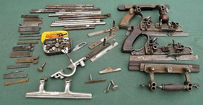 Assorted parts for Stanley combination planes