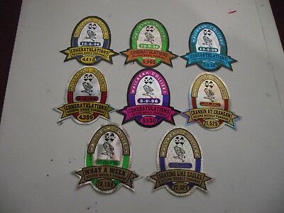 8 Wallarah Colliery Mining Stickers,in mint condition.