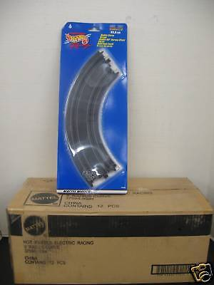 "24 Pcs Mattel/Tyco 9"" Radius Curve Tracks for HO scale slot cars New in box"
