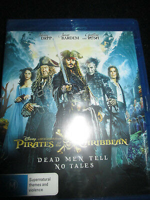 PIRATES OF THE CARIBBEAN (Dead Men Tell No Tales) Blu-ray -  BRAND NEW SEALED