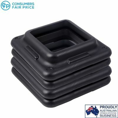 Set of 4 Fitness Exercise Aerobic Step Bench Risers