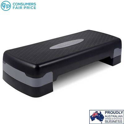 Fitness Exercise Aerobic Step Bench Black