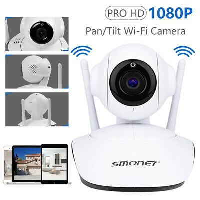 Wireless HD 720p IP WiFi Camera Security CCTV CAM Pan Tilt Network Night Vision