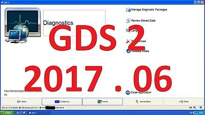 MDI Diagnostic software GDS2 v.17.0.08000 GM GLOBAL on VMWARE ready to use!