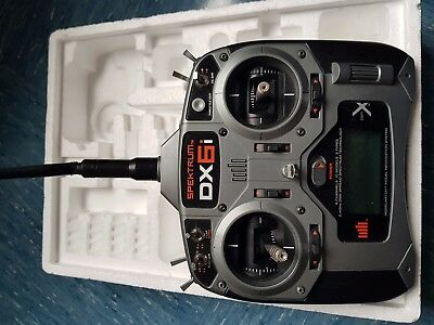 Spektrum DX6i Mode 2 TX only+ accessories