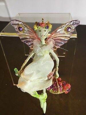 "CATWALK ""CAT NYMPH"" Hanging Ornament by Westland Giftware RETIRED RARE"