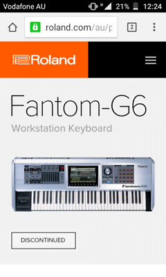 Roland Fantom G6 Keyboard Workstation