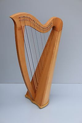 Mikel Lever Harp 27 Strings (Aster 27) with Deluxe Carry Bag, Unlevered