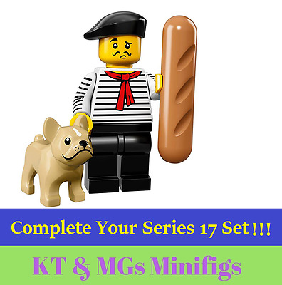 NEW!! Lego Minifigure - Series 17 - No.9 - French Connoisseur - 71018 **SALE**