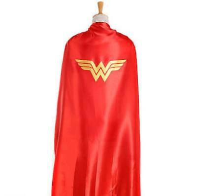 Wonder Woman Cape and Mask Set for Adults, NEW, 140CM Long Cape Cosplay Costume