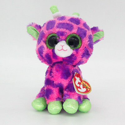 "Ty Beanie Boos 6"" Gilbert Stuffed Plush Toy Soft Animals Toy Girls&Boys Dolls"