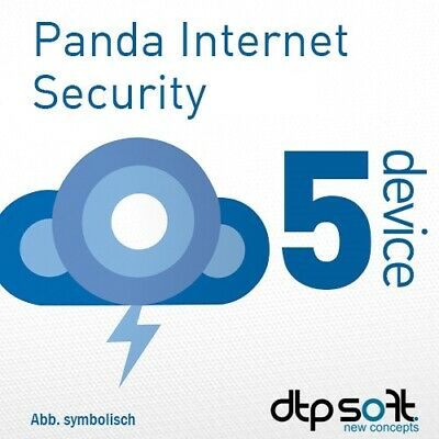 Panda Internet Security / Dome Advanced 5 PC 2019 5 dispositivi 1 anno 2018 IT