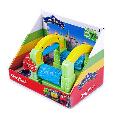 Chuggington Chug Wash Set JST38570 Spielset Playset Lokomotive Waschanlage Set