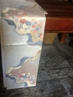 Japanese silk and jinken Obi