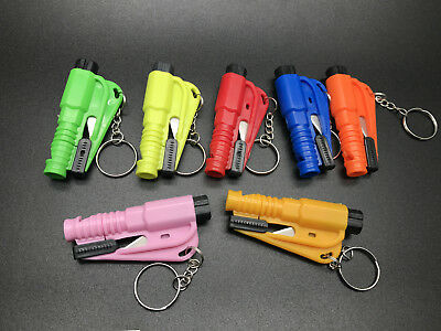 Mini Car Safety Emergency Hammer Escape tool Window breaker Rescue With Keychain