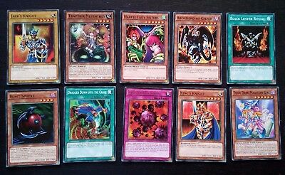 YU-GI-OH!!! 10 CARDS COLLECTIBLES 1st EDITION