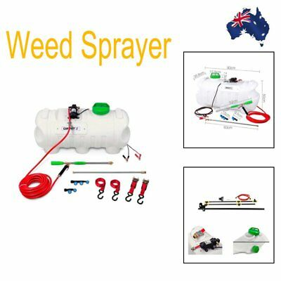 Adjustable Weed Sprayer with Boom Sprayer 100L Capacity Tank Dry Protection 1.07