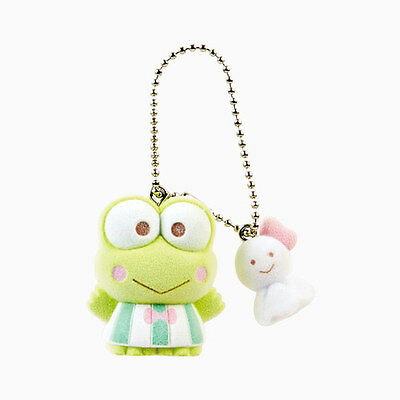 Keroppi Mascot chain F/S kawaii from JAPAN