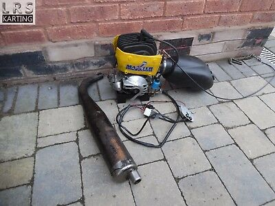 2014 CRG Rotax max senior with sealed engine / many used once parts fitted