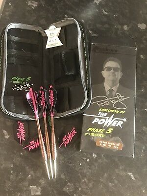 phil taylor phase 5 Unicorn darts Exc Cond