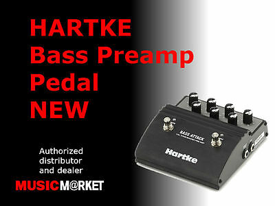 HARTKE Bass Preamp Pedal