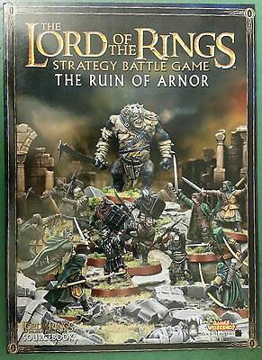 Lord of the Rings: The Ruin of Arnor Sourcebook - New with Free UK Postage