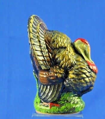 Vintage Thanksgiving Us Zone Paper Mache Turkey Candy Container