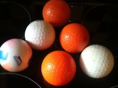 Assortment of 6 used hockey balls cheapest on eBay for quantity & quality