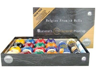 Aramith Tournament Pro Cup Value Pack Set Pool Billiards Balls w/FREE Shipping