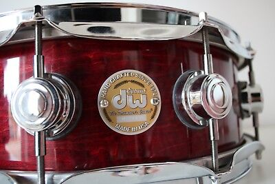 "DW SD Cherry Stain Collector´s Lacquer 14x5"" Snare Drum ★ Top Preis ★ Neuwertig"