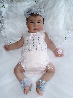 New Baby Marcia Full Body Soft Solid Silicone Girl Reborn Doll