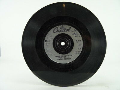 "CHARLES AND EDDIE, WOULD I LIE TO YOU, -/VG, 2 Track, 7"" Single, Plain Paper Sle"