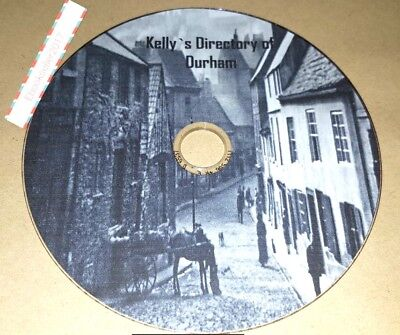 Kelly's Directory of Durham 2 Volumes transferred from original books to Pdf