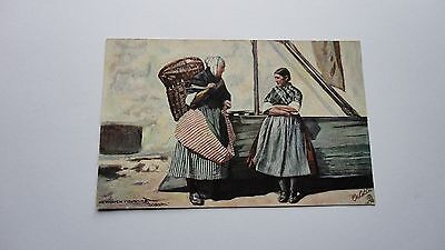 Postcard Newhaven Fishwives