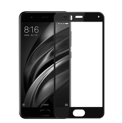 Lenuo CF 9H Anti-Scratch Tempered Glass Full Screen Protector For Xiaomi Mi6 Mi
