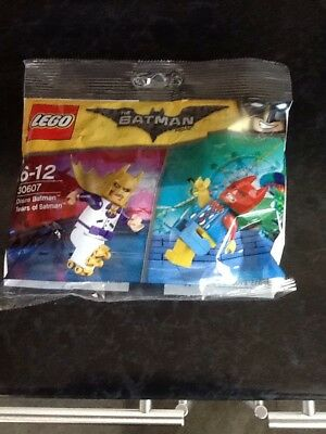 Rare Lego Batman Movie 30607 Polybag - Disco Batman & Tears Of Batman Minfigures
